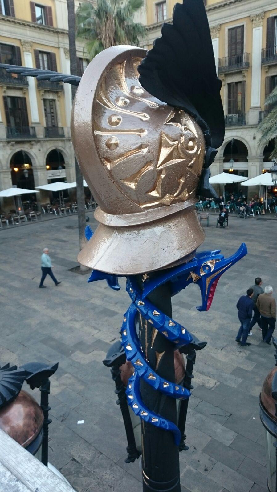 Fanals Plaça Reial Barcelona