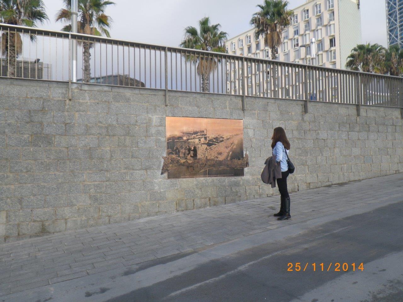 Monument Barraques del Somorrostro
