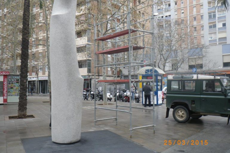 Monument a les il·lusions perdudes