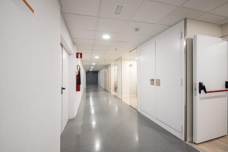Servei de neurofisiología planta soterrani de l'Hospital materno Infantil de l'Hospital Universitari Vall d'Hebron