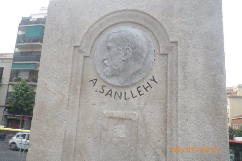 Monument a Domènec Sanllehy